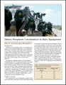 Dietary Phosphous Considerations in Dairy Management