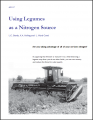 Using Legumes as a Nitrogen Source