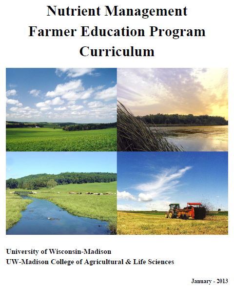 Nutrient Management Farmer Education Curriculum Revised